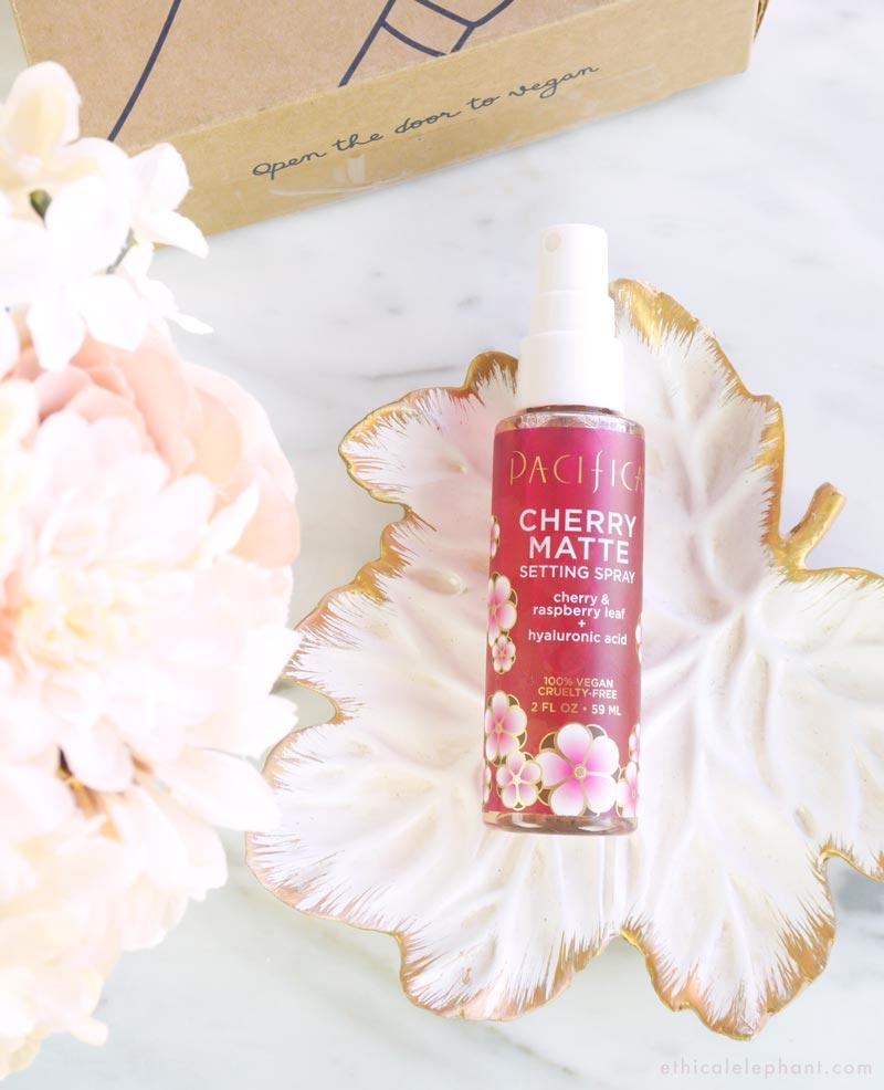 Pacifica - Cherry Matte Setting Spray - VeganCuts Makeup Box