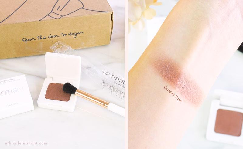 RMS Eyeshadow + la beaute Soi Blending Brush - VeganCuts Makeup Box