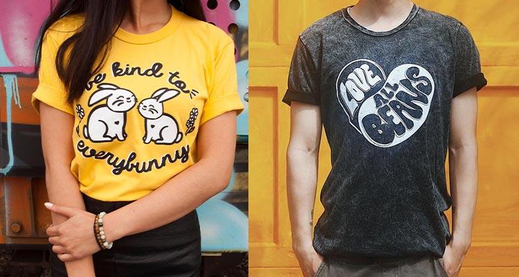 Wholesome Soybean - Kid-friendly vegan t shirts