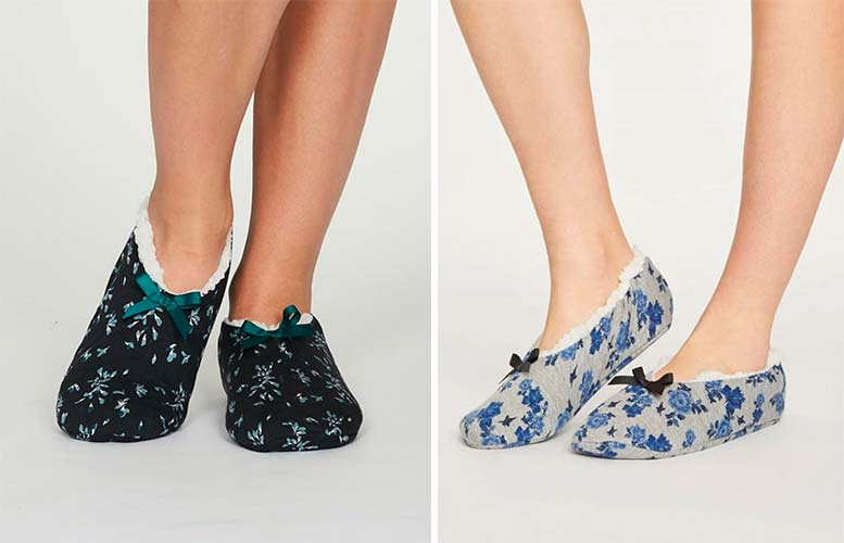 Sustainable and ethical slippers by Thought