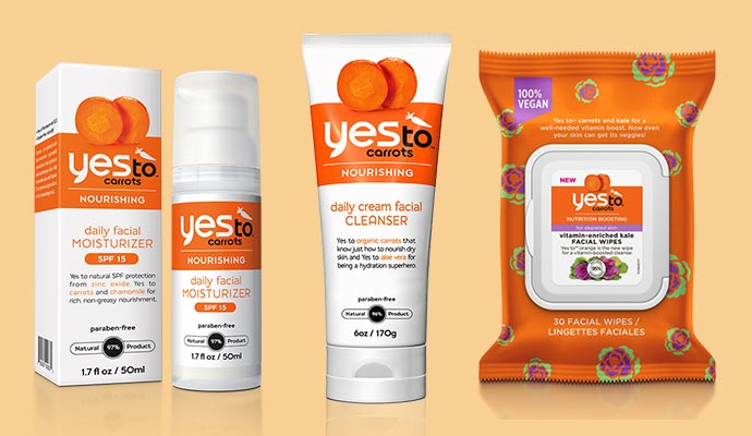 Yes to Carrots - Vegan Product List