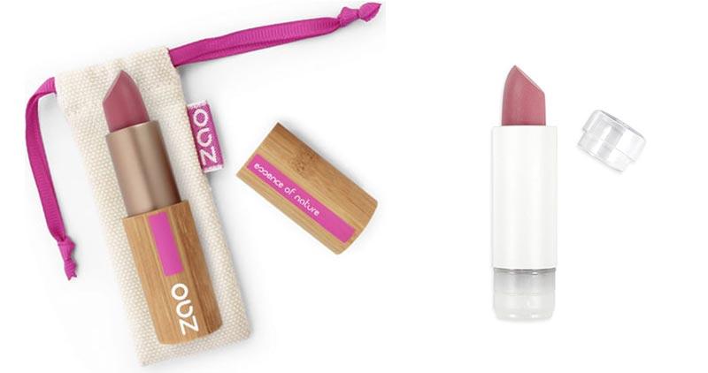Zao Organics Refillable Lipsticks