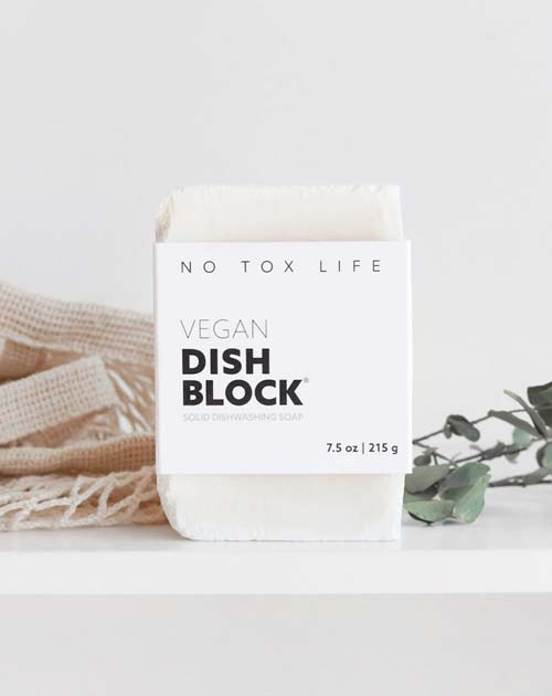 Zero-Waste Vegan Dishwashing Block