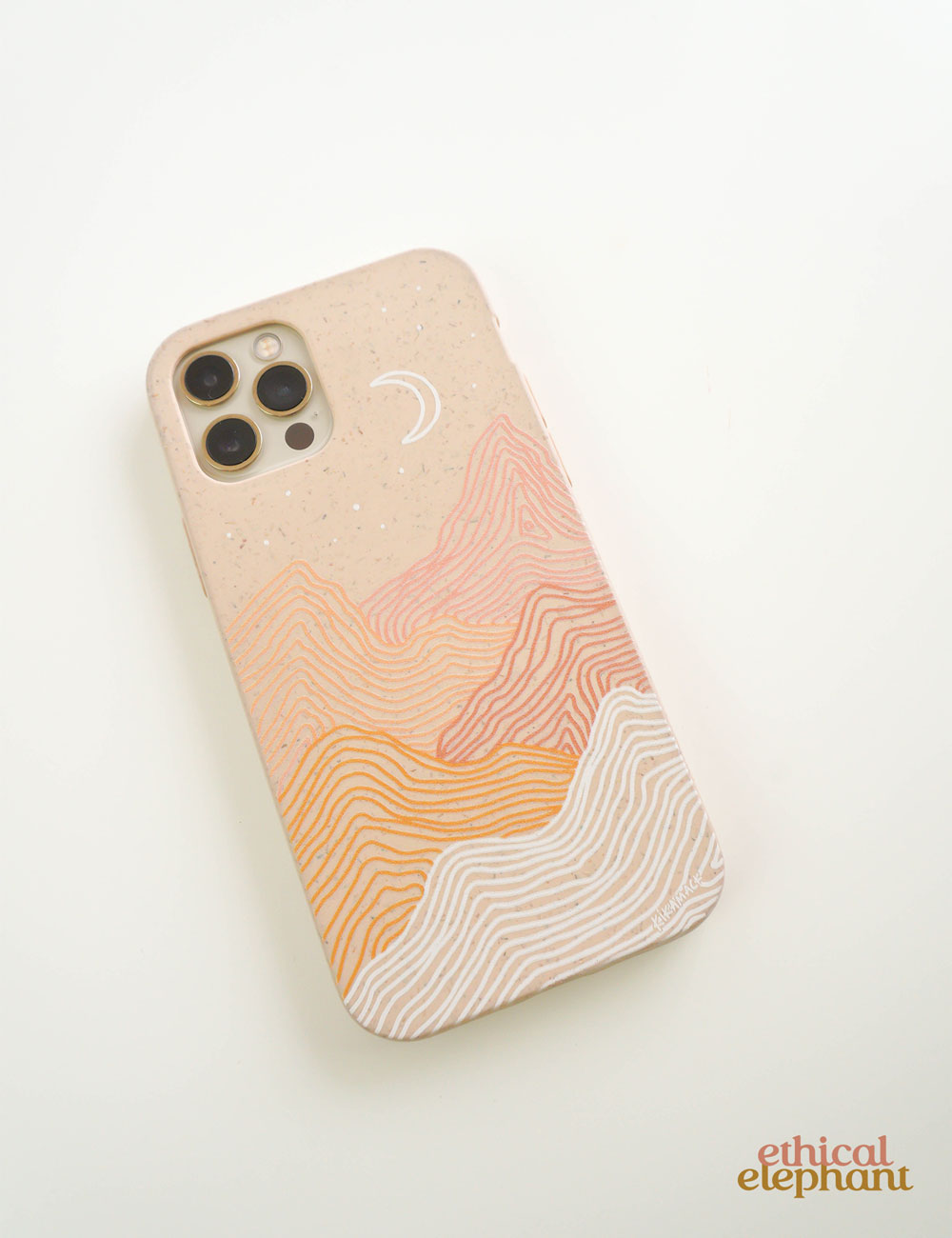 Pela Case - Seashell Pink Peaks