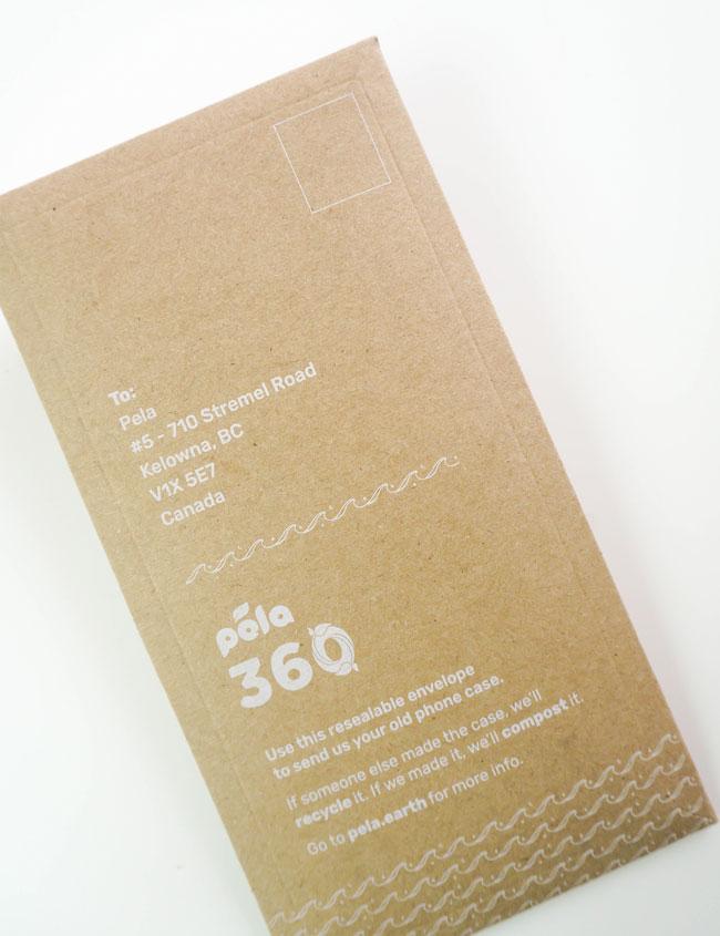 Pela Case Delivered in Brown Paper Envelope