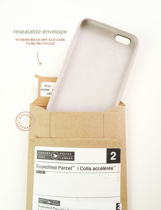 Resealable Envelope To Send Back Any Old Phone Case