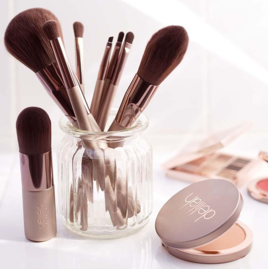 Delilah Eco-friendly Makeup Brushes