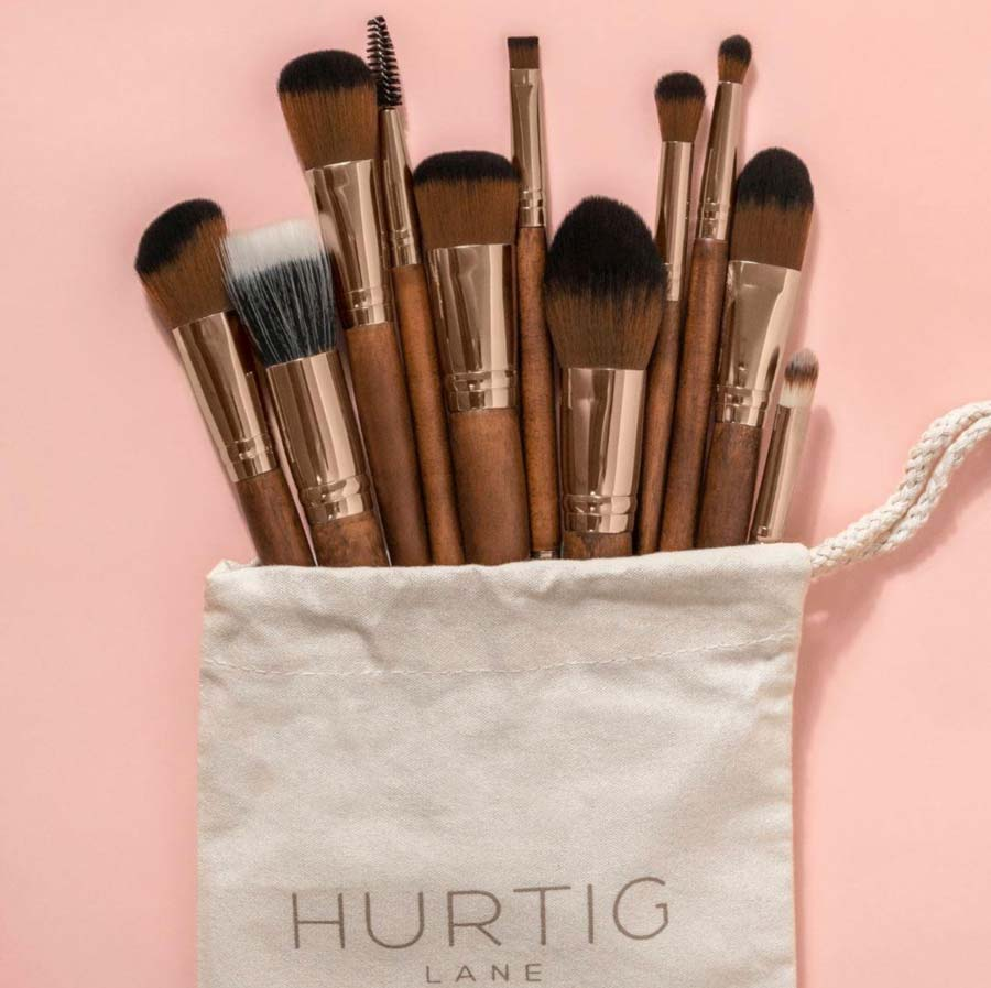 Hurtig Lane Eco-friendly Makeup Brushes