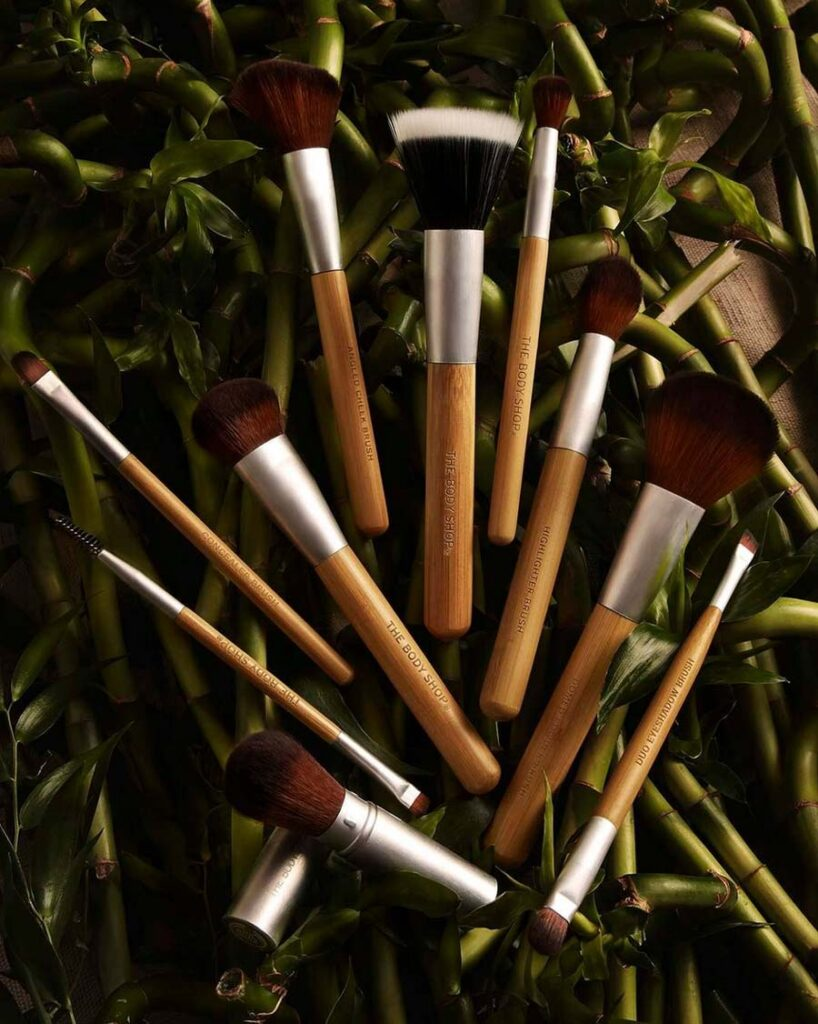 The Body Shop Eco-friendly Makeup Brushes