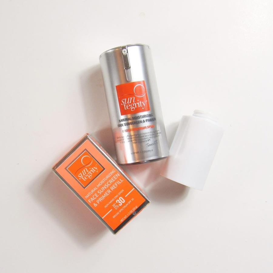 Suntegrity face sunscreen refill