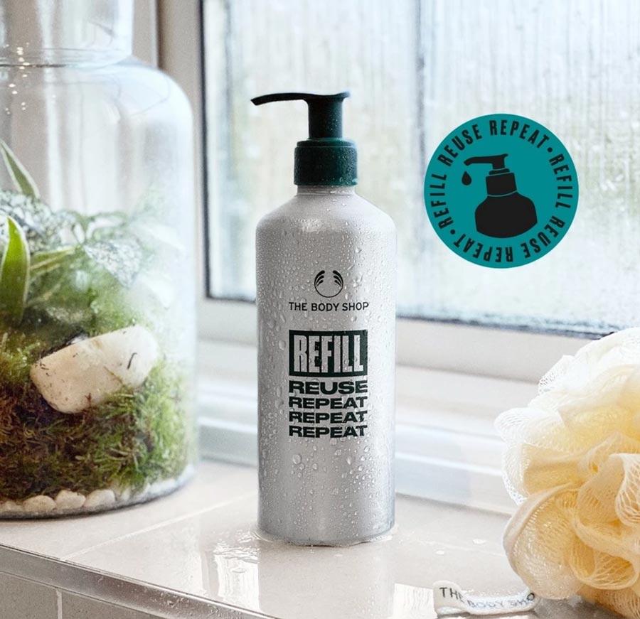 The Body Shop In-Store Refill Scheme