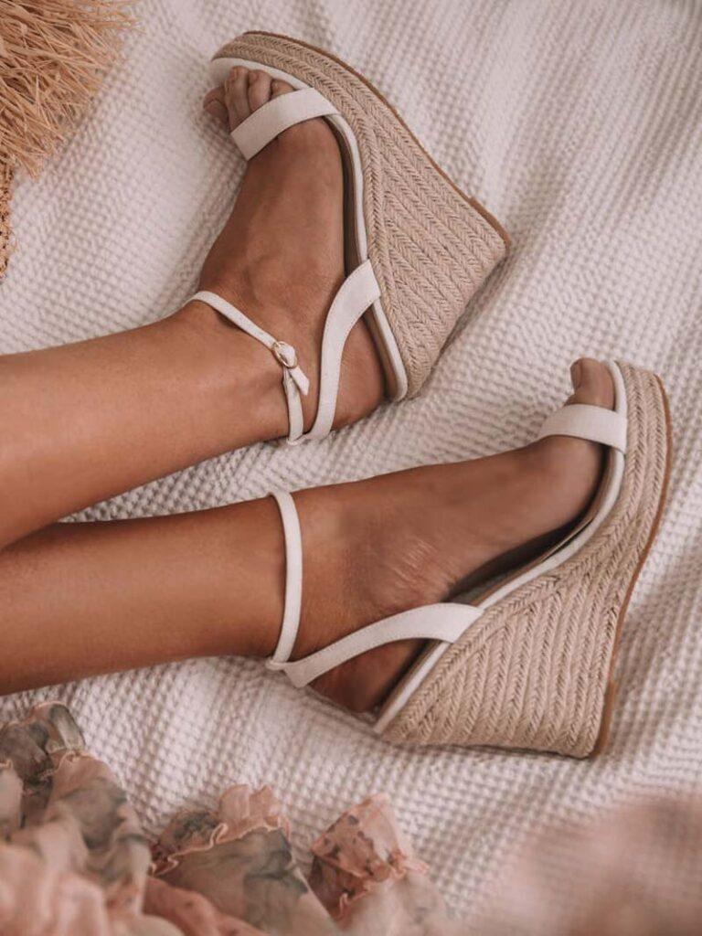 "Covet Shoes' Alana 4"" Wedges"
