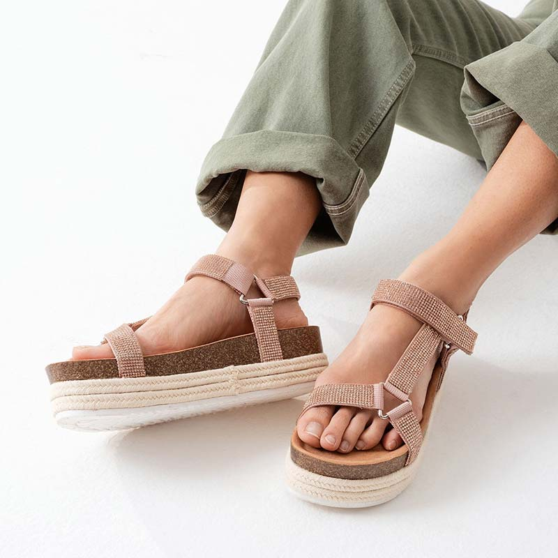 Aligolith - Vegan Flatform Sandal