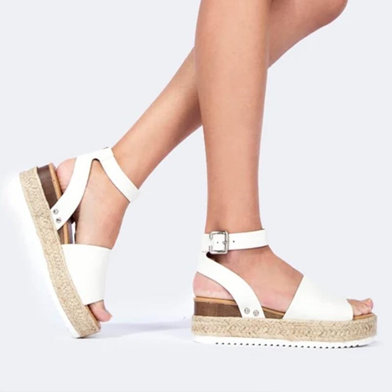 Blair - Espadrille Platform Sandals
