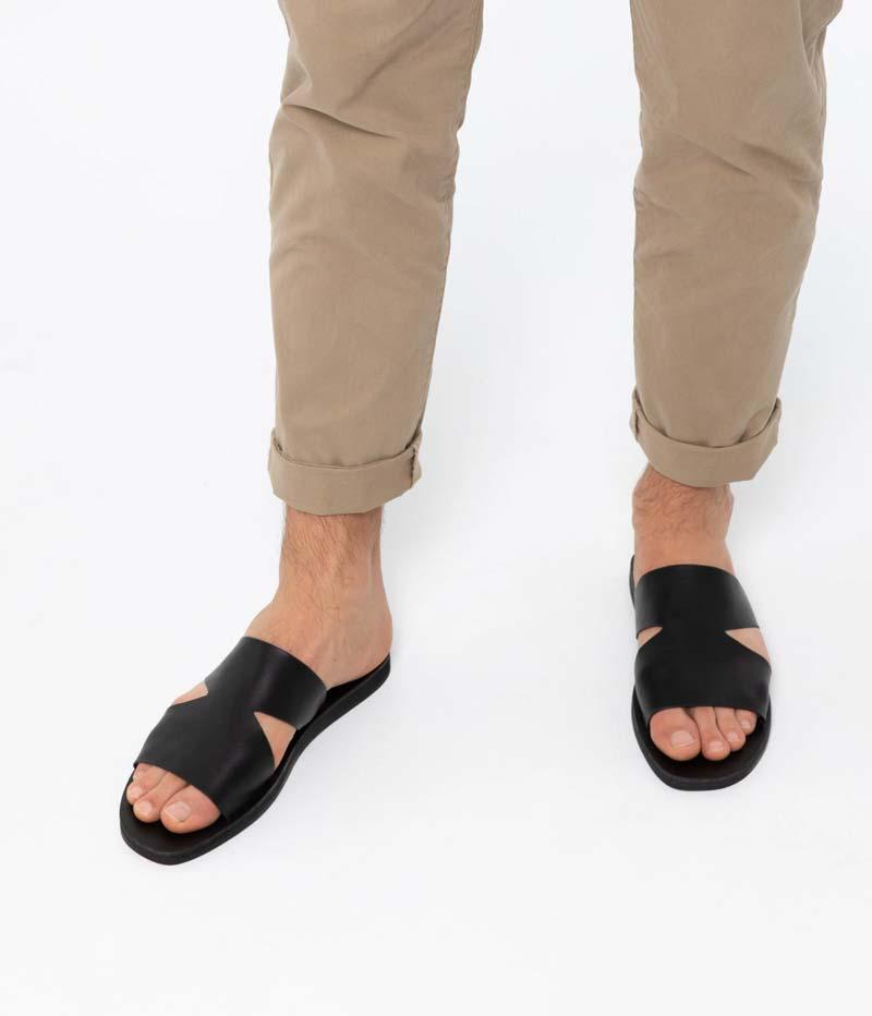 Matt & Nat - LEVOS Men's Vegan Slip On Sandals