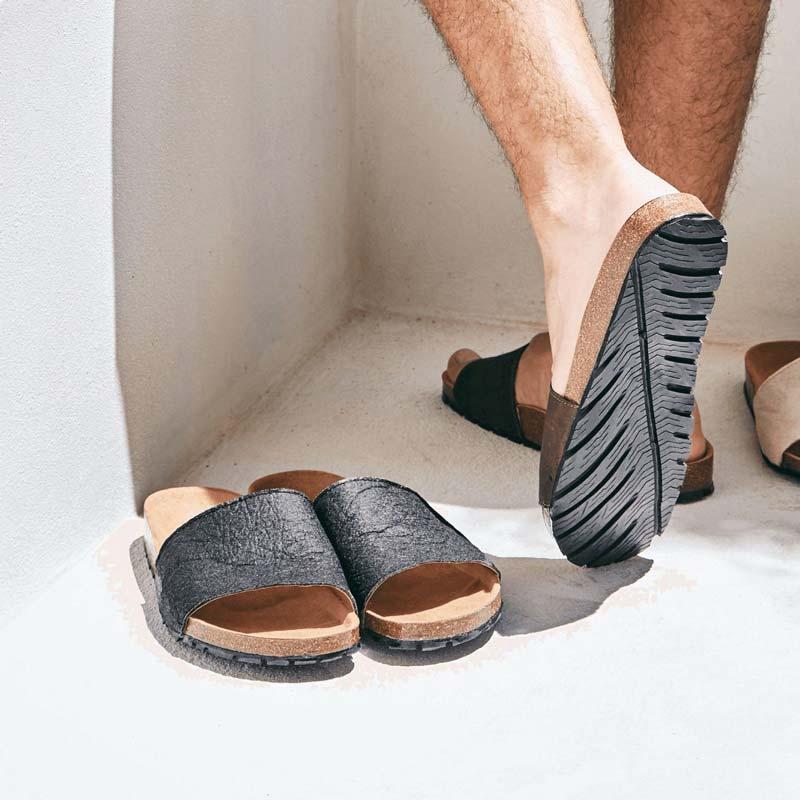 Nae - Piñatex Slip On Vegan Sandals