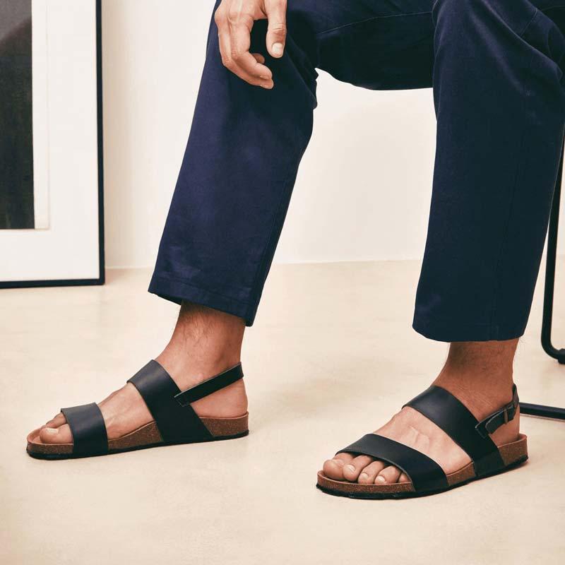 Nae - Zander 3-Strap Vegan Sandals