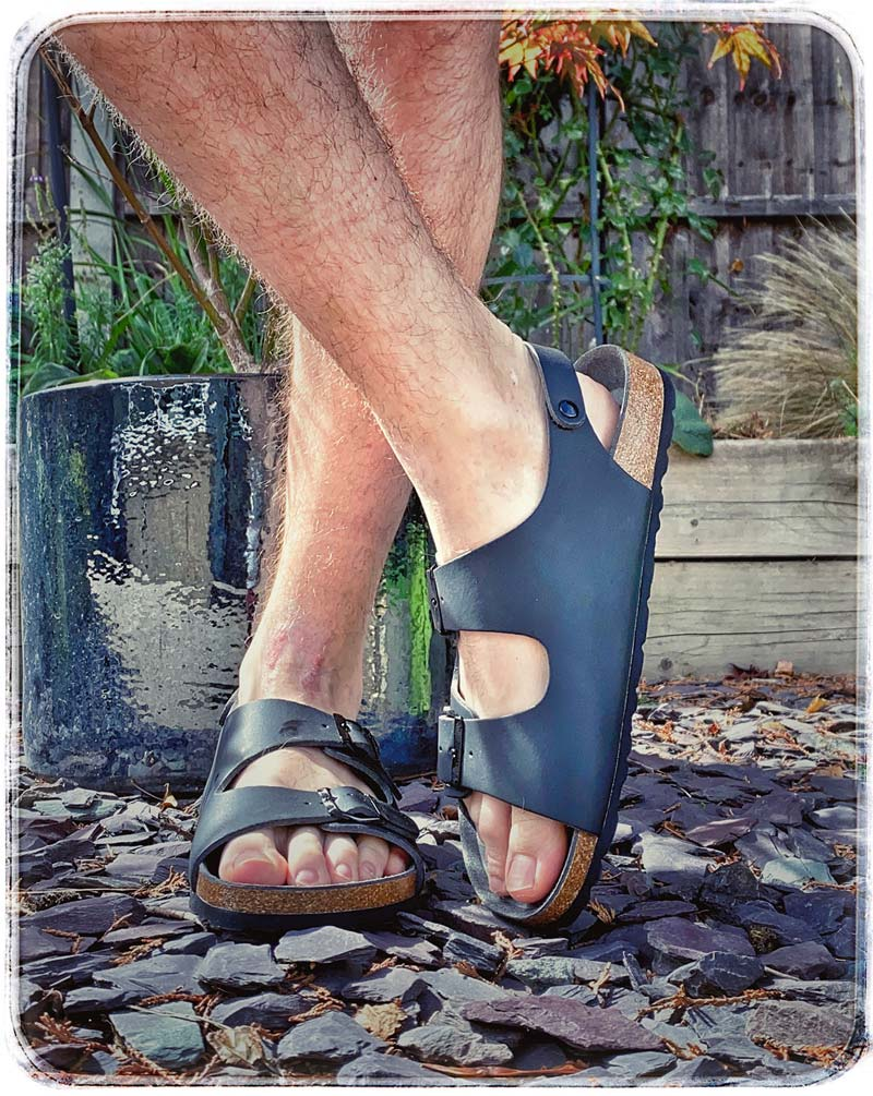 Vegetarian Shoes - 3-Strap Sandal