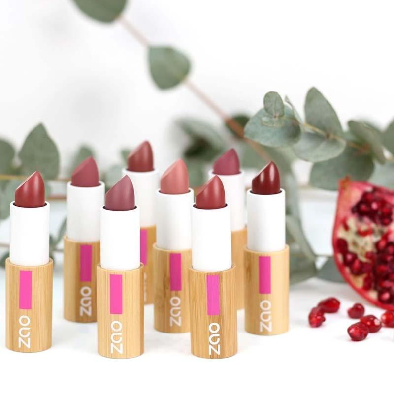 Zao Organic Refillable Lipsticks