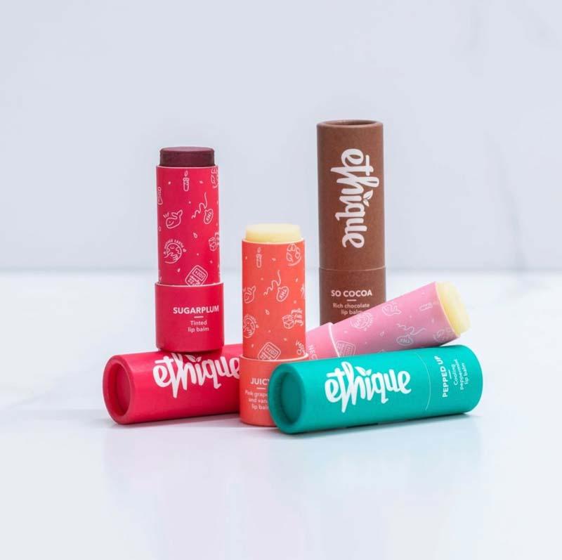 Ethique Plastic-Free Lip Balms